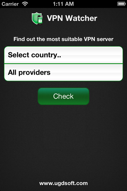 VPN Watcher Screenshot 1