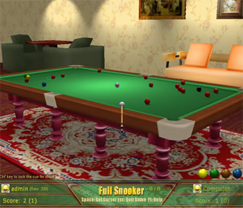 Snooker Game Screenshot