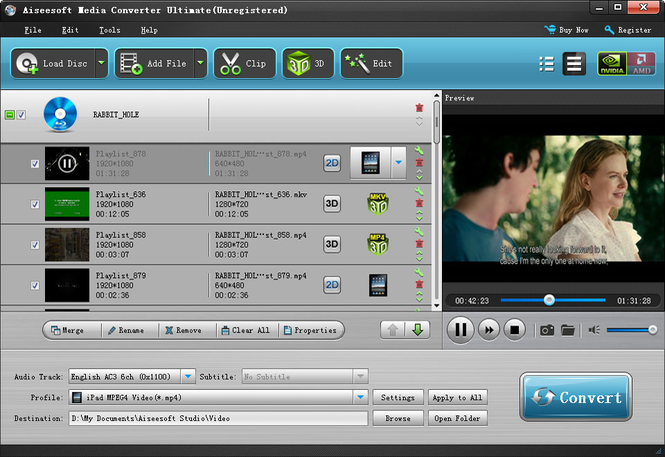 Aiseesoft Media Converter Ultimate Screenshot 1