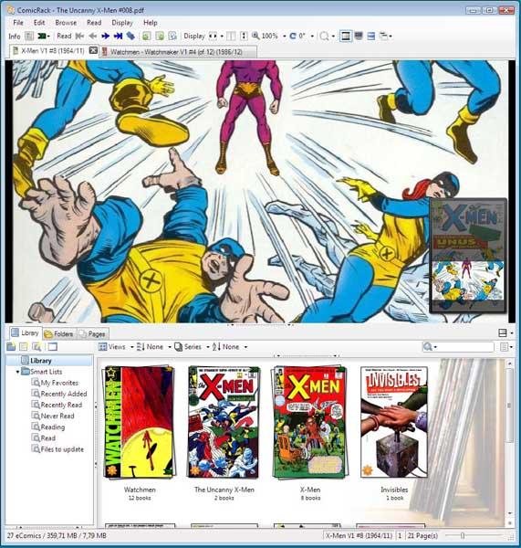 ComicRack Screenshot 2
