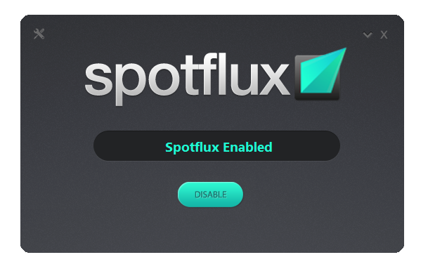 Spotflux Screenshot 1