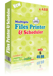 Multiple Files Printer and Scheduler Screenshot
