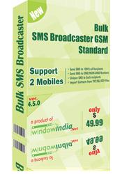 Bulk SMS Broadcaster GSM Standard Screenshot