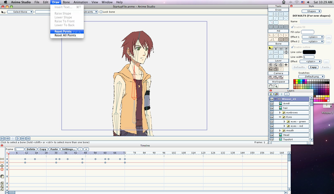 Anime Studio Pro Screenshot