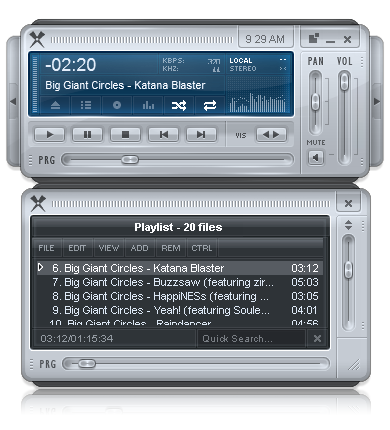 Xion Audio Player Screenshot 1