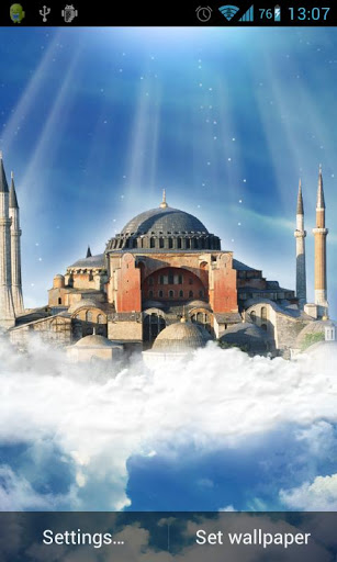 Hagia Sophia Live Wallpaper Screenshot