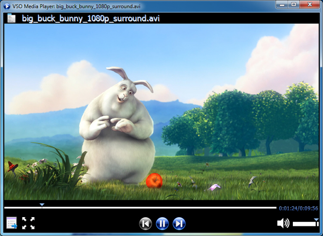 VSO Media Player Screenshot 1