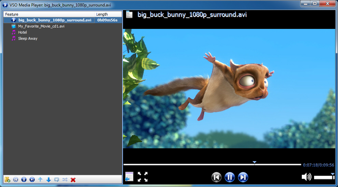 VSO Media Player Screenshot 2
