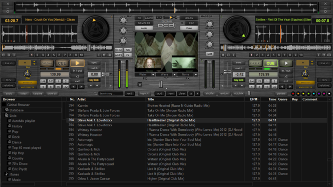 PCDJ DEX Screenshot