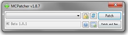 MCPatcher Screenshot