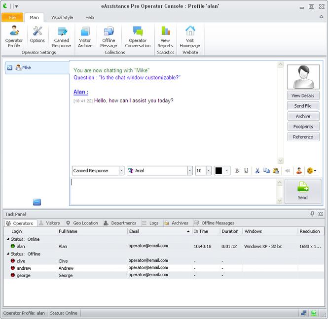 eAssistance Pro Screenshot 1