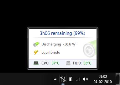 BatteryCare Screenshot 3