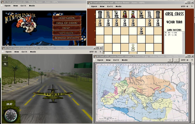 Shubus Viewer Screenshot