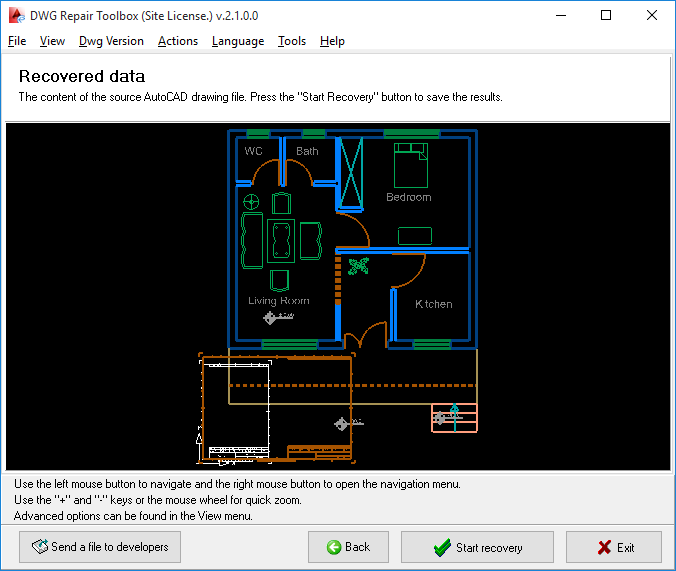 DWG Repair Toolbox Screenshot 4