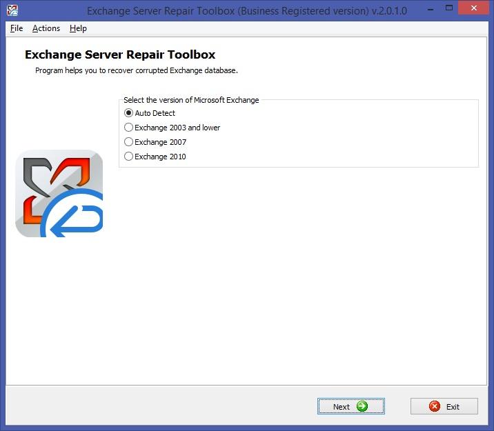Exchange Server Repair Toolbox Screenshot 6