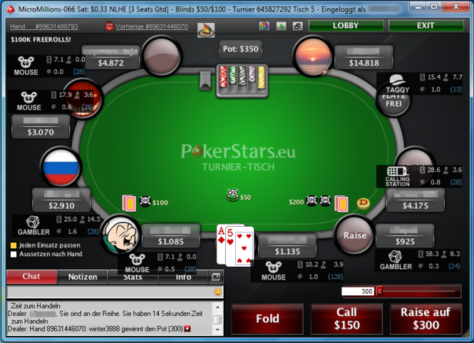 PokerReader Screenshot