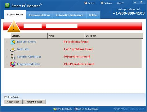 Smart PC Booster Screenshot 1