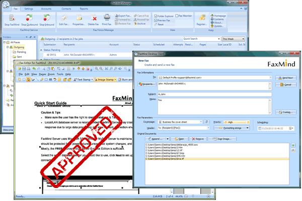 Faxmind Server Screenshot 1