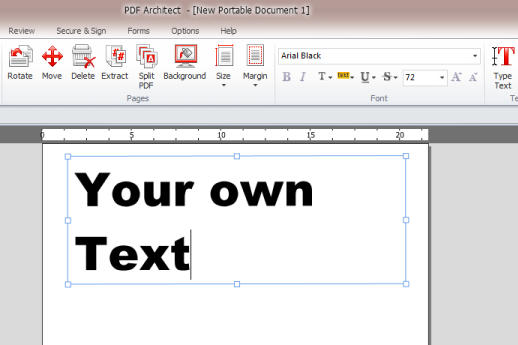 PDF Architect Screenshot 1