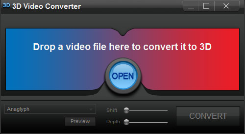 IQmango 3D Video Converter Screenshot 1