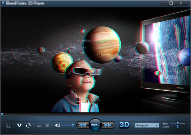 IQmango 3D Video Player Screenshot