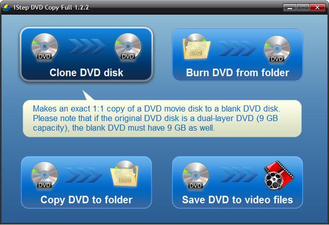 IQmango DVD Copy Screenshot 1