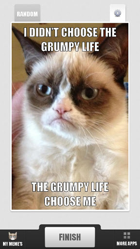 Grumpy Cat Meme Generator Screenshot