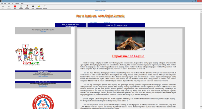 Spoken English Screenshot