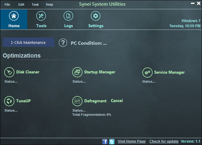 Synei System Utilities Screenshot 1