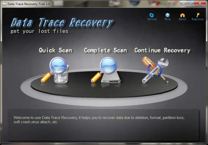 Data Trace Recovery Screenshot 1