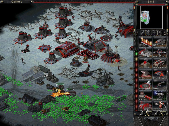 Command & Conquer Tiberian Sun Screenshot 1