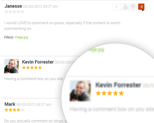 Post Comment Script by StivaSoft Screenshot 1