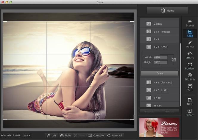 fotor - photo editor gratuit