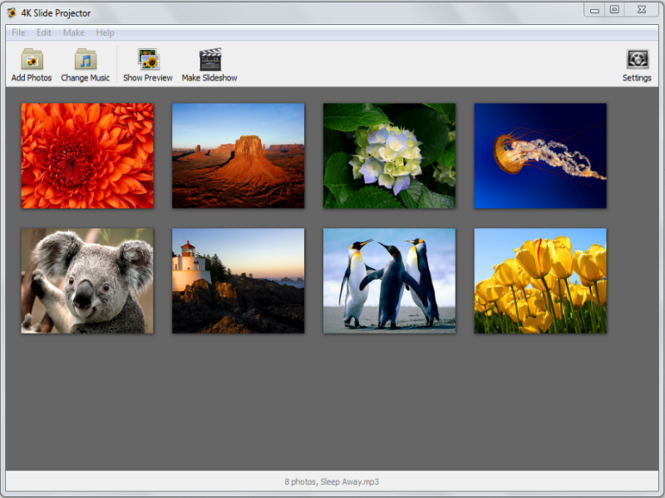 4K Slideshow Maker for Mac Screenshot