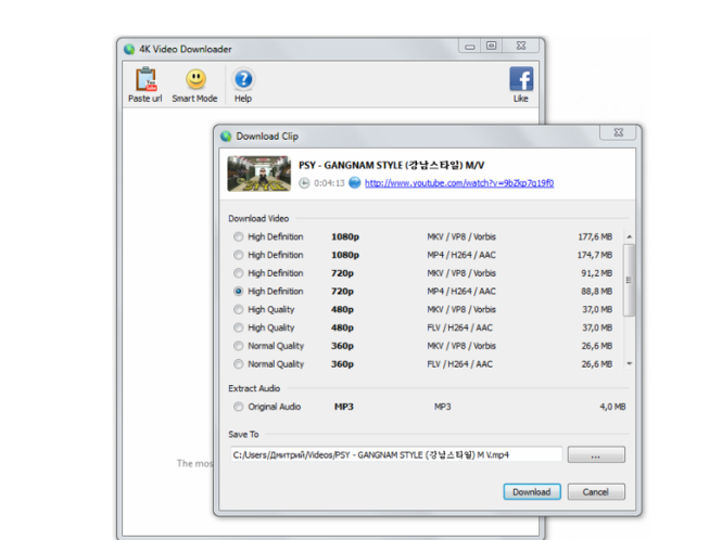Download 4K Video Downloader 3.5