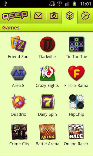 Qeep Games Pack Screenshot
