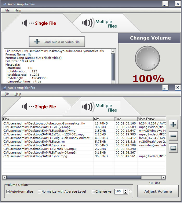 Audio Amplifier Pro Screenshot