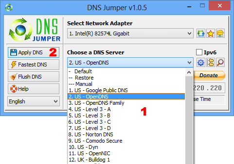 Dns Jumper Screenshot 2