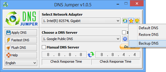 Dns Jumper Screenshot 3