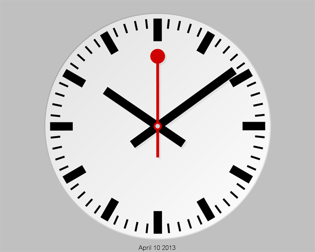 Swiss Clock-7 Screenshot