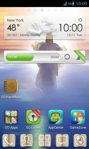 Christian Theme Go Launcher Screenshot
