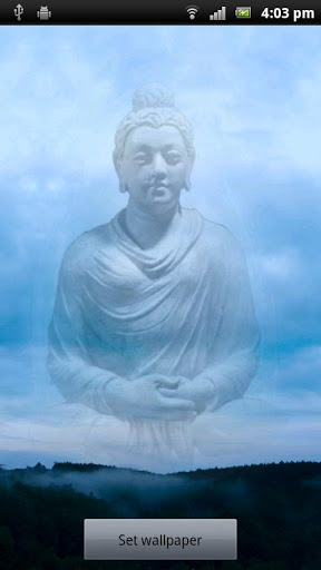 Buddha Live Wallpaper Screenshot 1