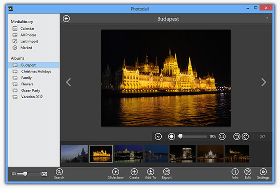 Photodali Photo Manager Screenshot 2