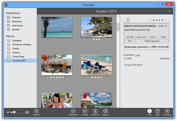 Photodali Photo Manager Screenshot 3