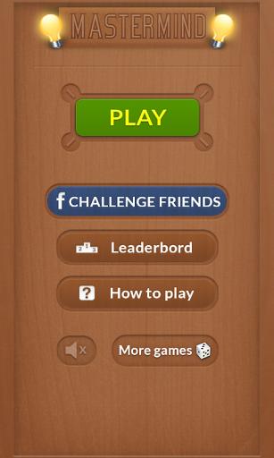 Mastermind Board Game Screenshot