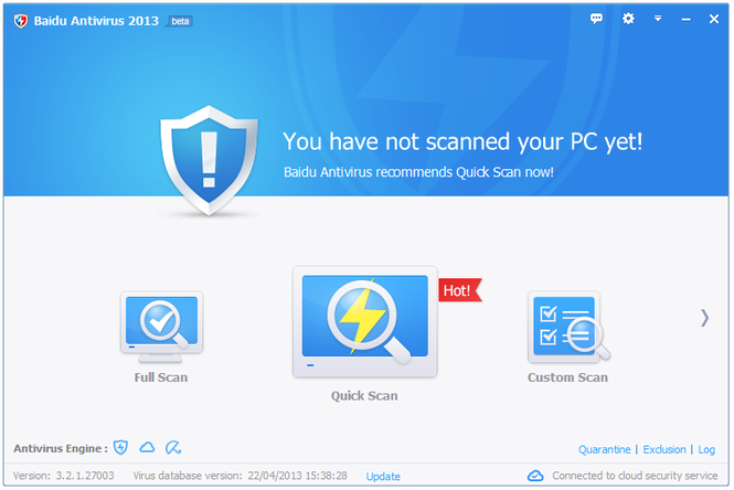 Baidu Antivirus Screenshot 2