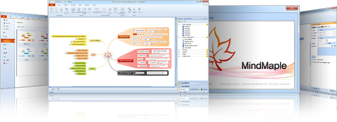 MindMaple Pro Screenshot