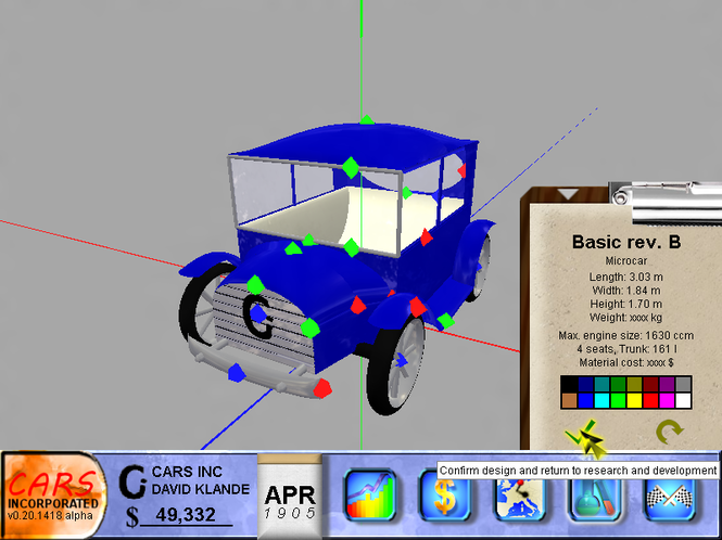 Cars Incorporated Screenshot 1