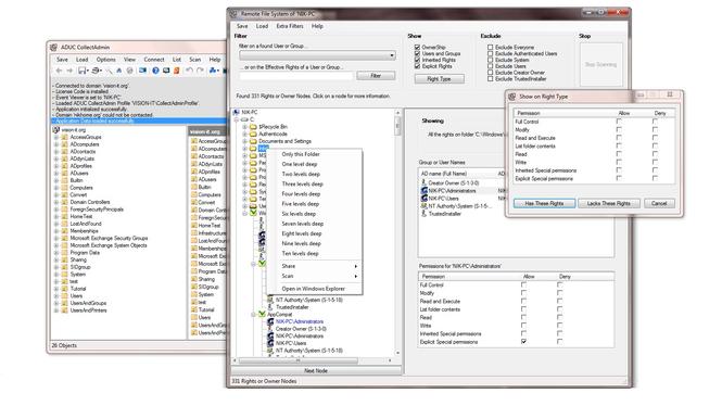 ADUC CollectAdmin Screenshot 1