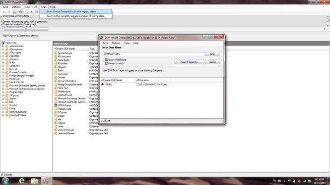 ADUC PeopleAdmin Screenshot 1